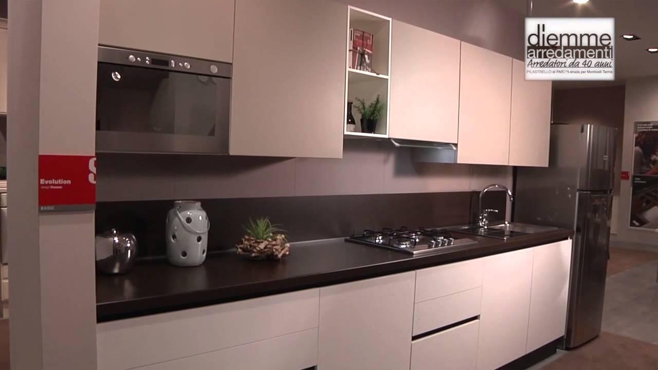 Diemme arredamenti promozione cucina scavolini youtube - Cucina scavolini prezzo ...