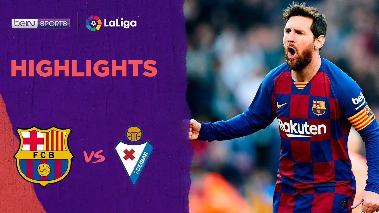 Barcelona 5-0 Eibar | LaLiga 19/20 Match Highlights