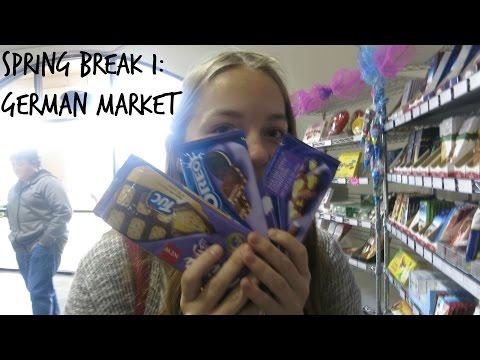Auslandsjahr 2015/2016 I #39 - Spring Break #1 - German Market