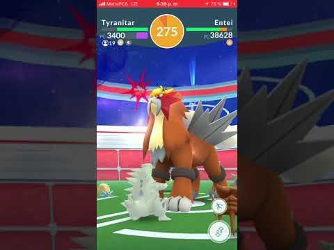 "Súper! mi primer entei en Pokémon go ""veritas """