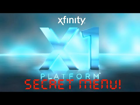 Xfinity X1 Entertainment System SECRET Menu! 2016 - Hidden Settings
