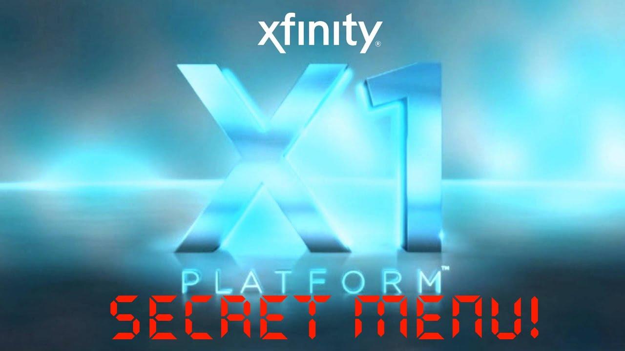 Xfinity X1 Entertainment System SECRET Menu! 2016 - Hidden Settings