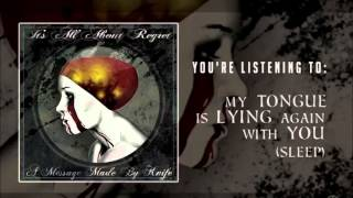 My tongue is lying again with you (Acoustic Demo)