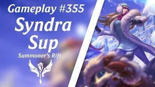 LOL Gameplay - Syndra Suporte #5 | 4K 60fps