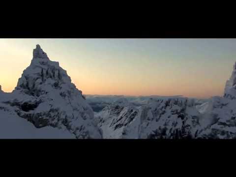 Завораживающий восход солнца в горах Норвегии