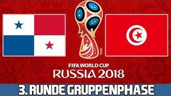 PANAMA : TUNESIEN   3. Runde Gruppenphase   FIFA WM 2018 Prognose