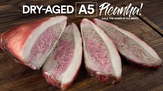 I Dry Aged A5 Wagyu Picanha now it's worth $3,000.00!
