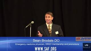 Dr. Sean Brodale at the 2018 Gun Rights Policy Conference (GRPC)
