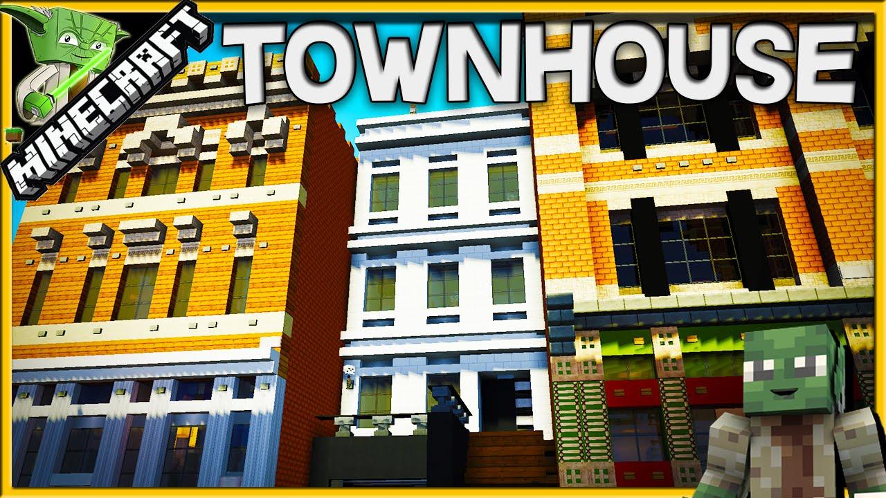 Minecraft Creative Tips Tricks: Minecraft Townhouse