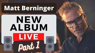 "Matt Berninger - ""Serpentine Prison"" ALBUM - LIVE (Compilation PART 1) (at ""CBS This Morning"")"