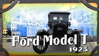 Форд Т, 1923-го. Первый массовый и доступный автомобиль. Автообзор раритета.