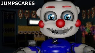 ALL THE JUMPSCARES OF BENNY THE CLOWN CIRCUS WORLD: REMASTERED | TODOS LOS SUSTOS |
