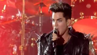 "3. Queen & Adam Lambert ""Fat Bottomed Girls""(Live in Kiev)"