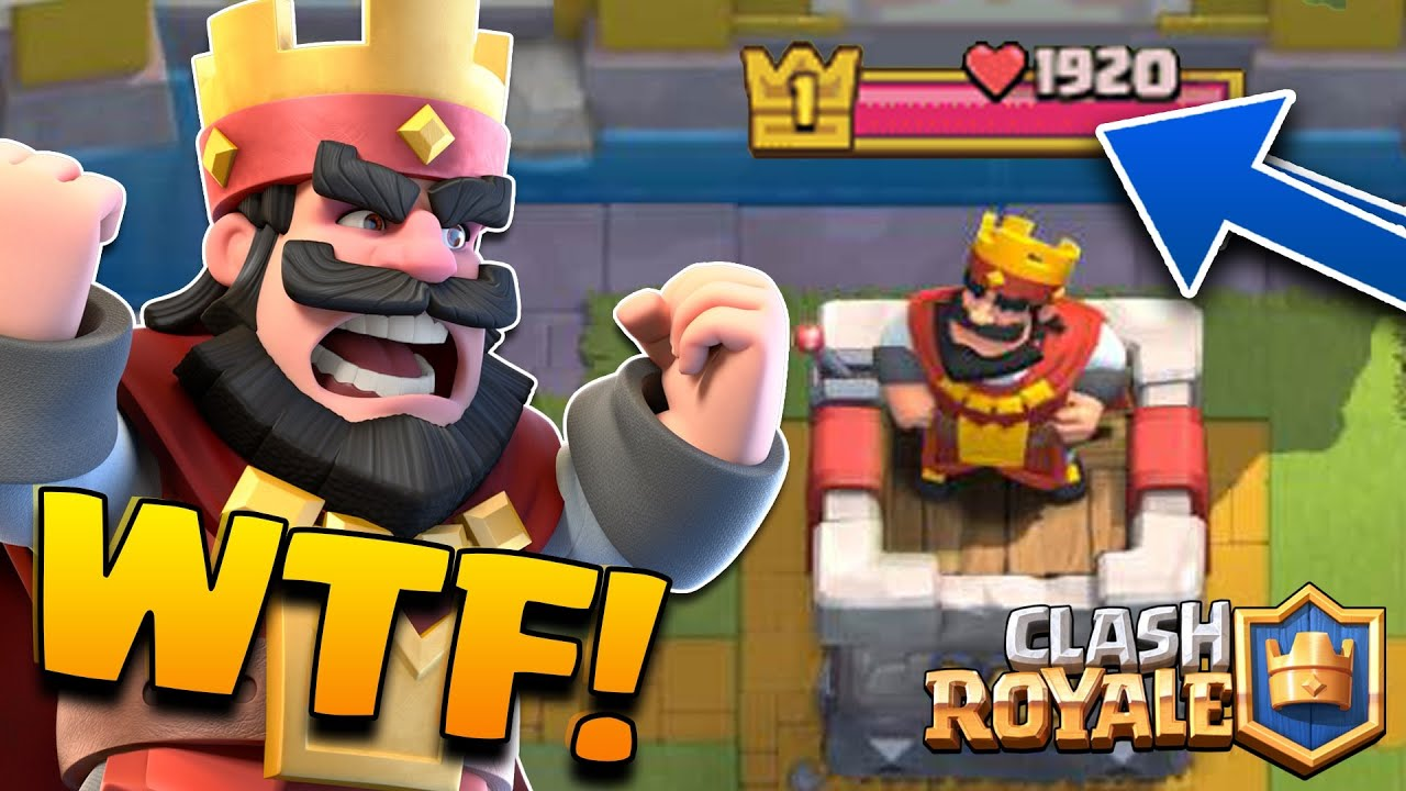 Clash Royale - World's Best Deck?! (LEVEL 1 BEATS LVL 6) Arena 1-7 ...