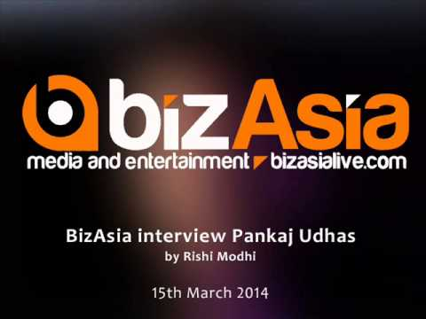 BizAsia interview Pankaj Udhas on 15th March 2014 by Rishi Modhi