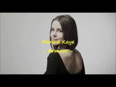 Marina Kaye - Armour - Lyrics et Traduction