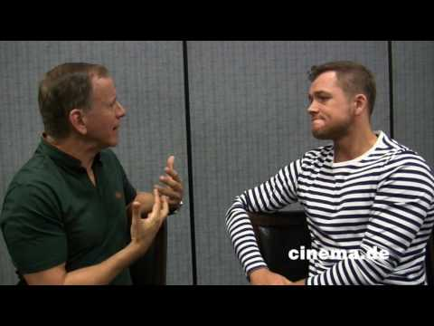 Kingsman: The Golden Circle // Taron Egerton // Interview // CINEMA-Redaktion