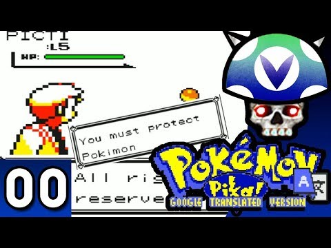 [Vinesauce] Joel - Google Translate Pokemon Version 2.1 ( Part 1 )