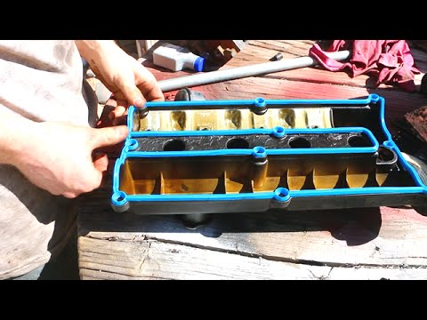Car Leaking Oil How To Replace Valve Cover Gasket Ford Escort