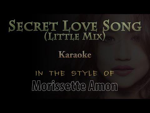 Secret Love Song HD Karaoke in the style of Morissette Amon