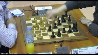 Round 14 2014 World Blitz Championship Magnus Carlsen vs. Judit Polgar