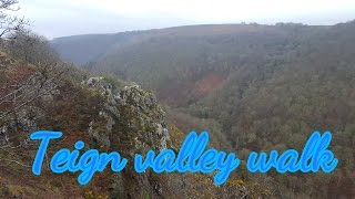 Teign valley walk