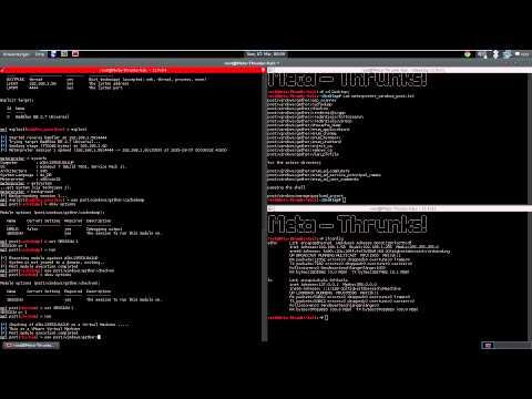 Windows Post Modules - Metasploit - Meta-Thrunks!