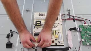Vizio E60-C3 Kit completo de reparación de TV - Cómo reemplazar las tarjetas - subtítulos español