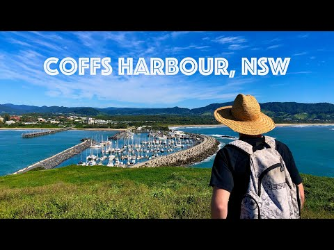 Coffs Harbour Australia   Exploring the sights for a day