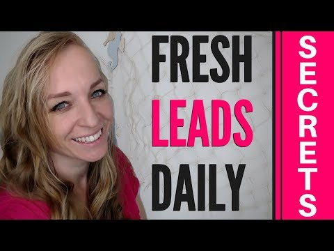 How To Find And CONNECT With New LEADS Daily