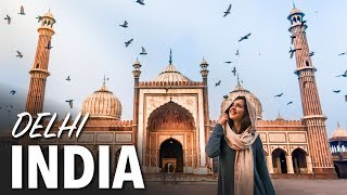 FIRST TIME IN INDIA - Amazing Places in Delhi, India