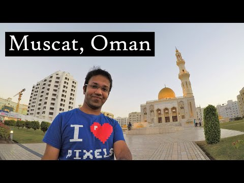 An evening in Muscat