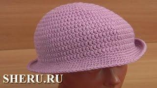 Шляпка классическая крючком Урок 38 часть 1 из 2 Tığ Şapka