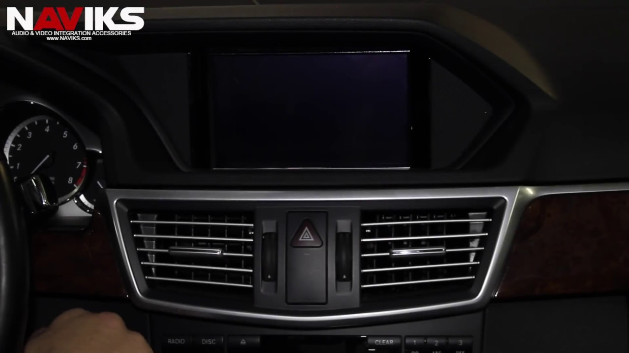 2012 mercedes benz e class w212 naviks video integration for Mercedes benz connect iphone