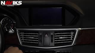 2012 Mercedes Benz E-Class W212 NAVIKS Video Integration Interface Add: Camera, iPhone 5  Apple TV