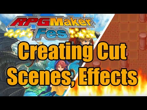 RPG Maker FES - Creating Cut Scenes, Animations, Subtitles T