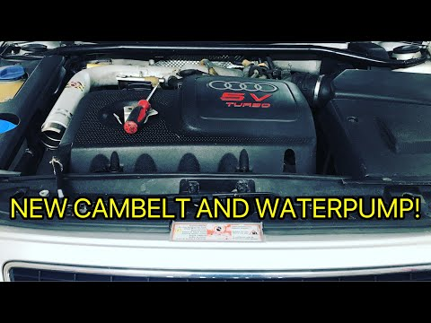 How To Replace Cambelt on BAM engine Audi S3/1.8T Golf GTI