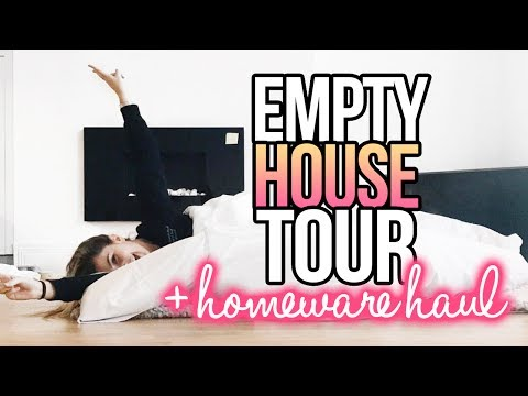 MOVING VLOG: Empty House Tour & Huge Homeware Haul