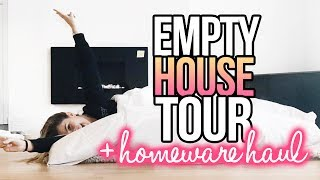 MOVING VLOG: Empty House Tour & Huge Homeware Haul
