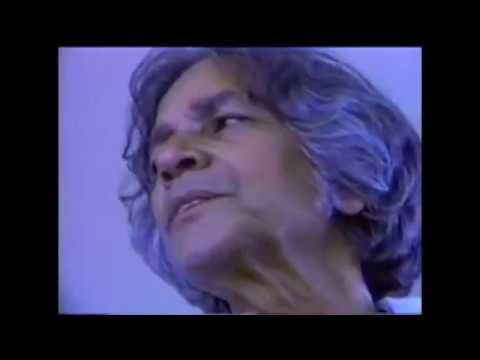 U.G. Krishnamurti - Unwillingness to Face and Solve Problems
