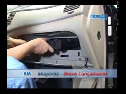 Malhaweb kia como trocar o filtro de ar condicionado for Filtro cabina camaro 2016