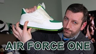 sarcoma pila Formación  How much Height do Nike Air Force 1 give you?