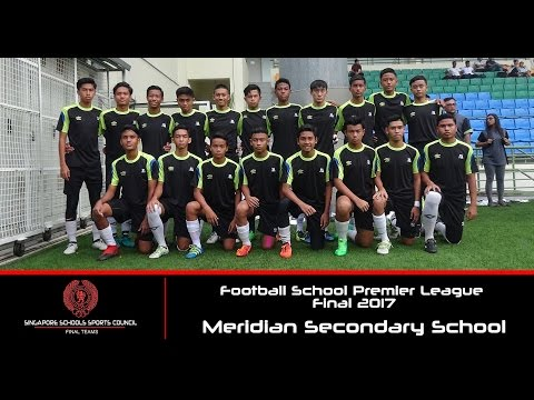 Football School Premier League Final 2017 ( B Boys ) - Singapore Sports School vs Meridian