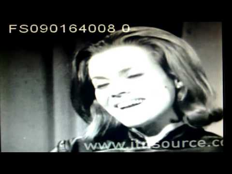 Honor Blackman talks about her role in Goldfinger ITN Archive 1964
