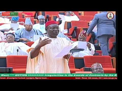 LIVE Senate Plenary 26TH January, 2017