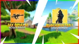HOW WILL the NEW WEAPON + SKIN BLOCKBUSTER work (MOST LIKELY)-Fortnite Battle Royale