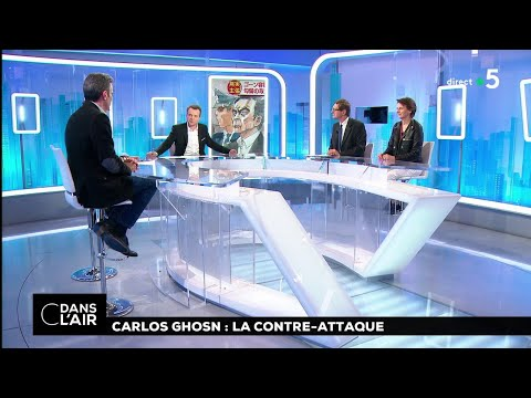 Carlos Ghosn : la contre-attaque #cdanslair 09.01.2019