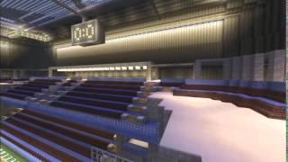 Minecraft Ps3/Partie 11/Le stade de foot