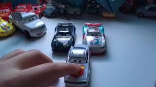 Disney Pixar cars 3 Pat Trackson diecast review