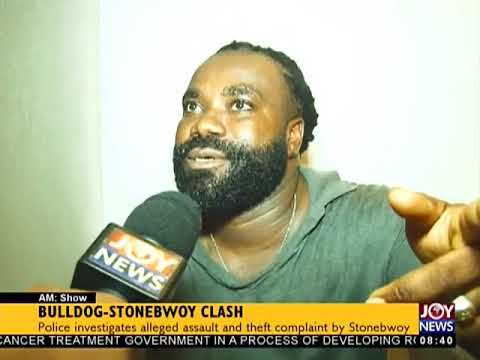 Bulldog – Stonebwoy Clash - AM Show on JoyNews (12-3-18)